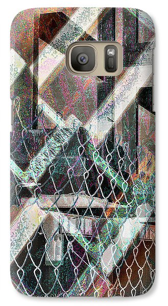 Galaxy Case featuring the digital art Abstract Concrete by Ginny Schmidt