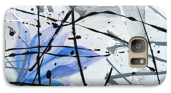 Galaxy Case featuring the painting Abstract Impressionist by Chriss Pagani