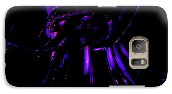 Galaxy Case featuring the photograph Abstract Invader by Clayton Bruster