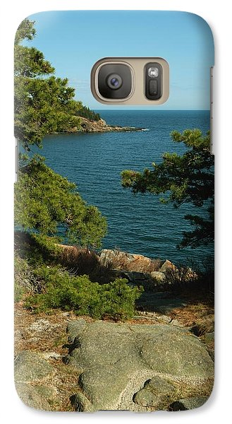 Galaxy Case featuring the photograph Acadia In Maine by Rick Frost
