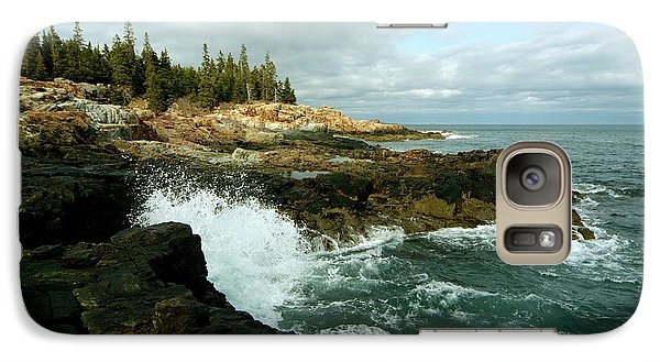Galaxy Case featuring the photograph Acadia On The Shore by Rick Frost