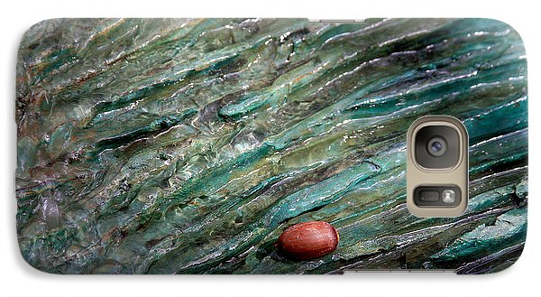 Galaxy Case featuring the photograph Acorn Fountain by Jerry Bunger
