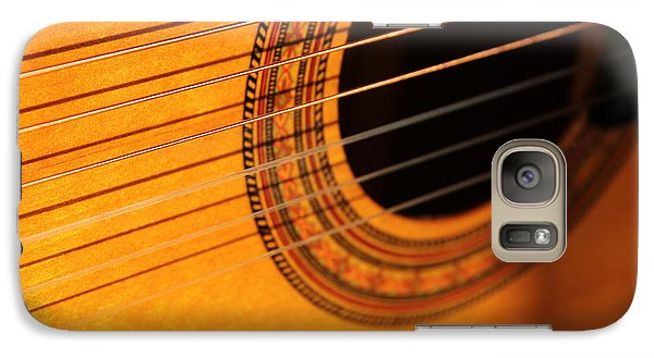 Galaxy Case featuring the photograph Acoustic In The Sunset by Elizabeth Sullivan