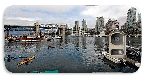 Galaxy Case featuring the photograph Across False Creek by John Schneider