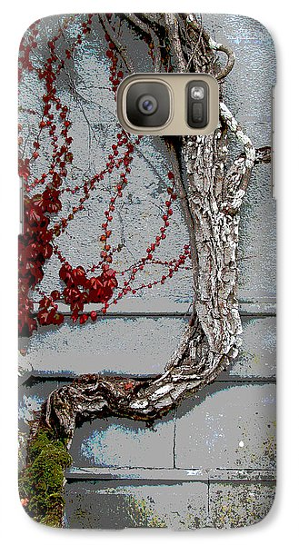 Galaxy Case featuring the photograph Adare Ivy by Charlie and Norma Brock