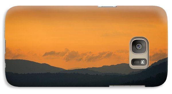 Galaxy Case featuring the photograph Adirondacks by Steven Richman