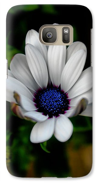 Galaxy Case featuring the photograph African Daisy by Lynne Jenkins