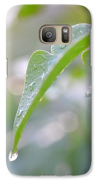 Galaxy Case featuring the photograph After The Rain by JD Grimes