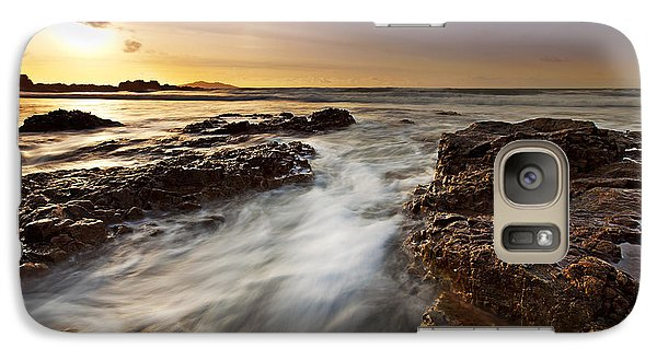 Galaxy Case featuring the photograph Afternoon Tide by Beverly Cash