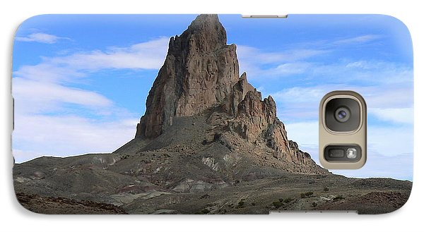 Galaxy Case featuring the photograph Agathla Peak by Scott Rackers