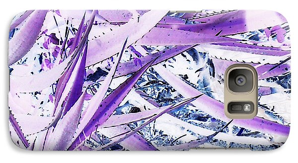 Galaxy Case featuring the photograph Agave Lechuguilla Number One by Louis Nugent
