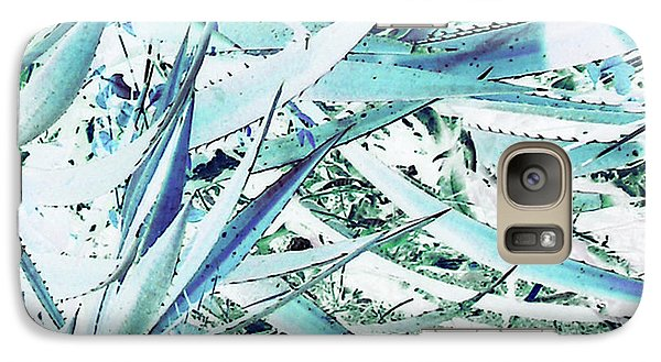 Galaxy Case featuring the photograph Agave Lechuguilla Number Two by Louis Nugent