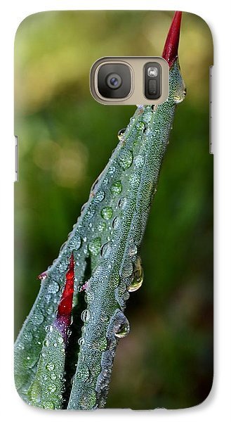 Galaxy Case featuring the photograph Agave Thorn by Werner Lehmann