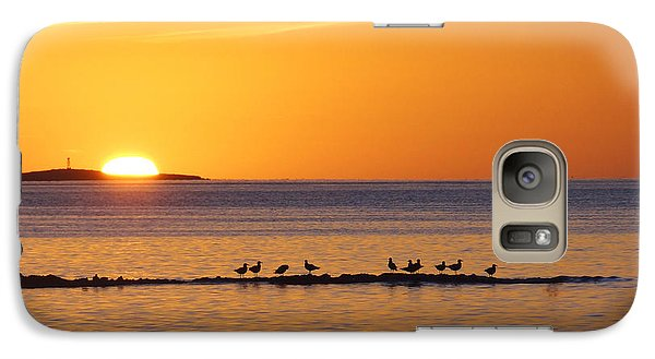 Galaxy Case featuring the photograph Agua Verde Sunrise by Anne Mott