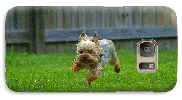 Galaxy Case featuring the photograph Airborn by Brian Wright
