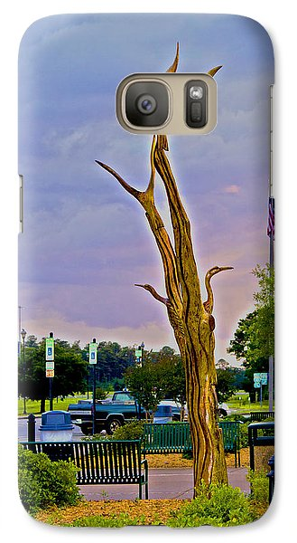Galaxy Case featuring the photograph Alabama Rest Area by Shelley Bain