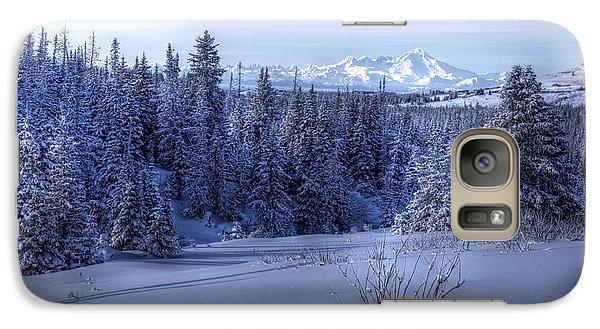 Galaxy Case featuring the photograph Alaskan Winter Landscape by Michele Cornelius