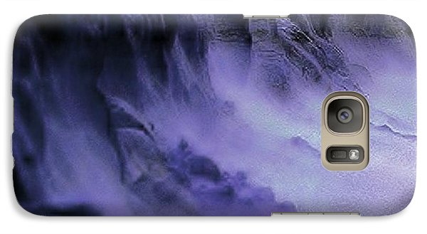 Galaxy Case featuring the photograph Alien Landscape The Aftermath by Blair Stuart