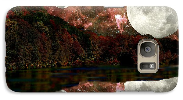 Galaxy Case featuring the photograph Alien World by Sarah McKoy