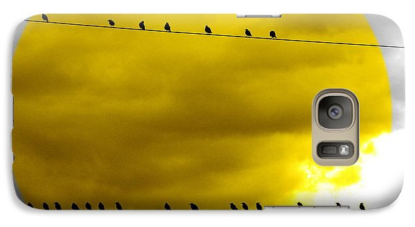 Galaxy Case featuring the photograph All Around The World by France Laliberte