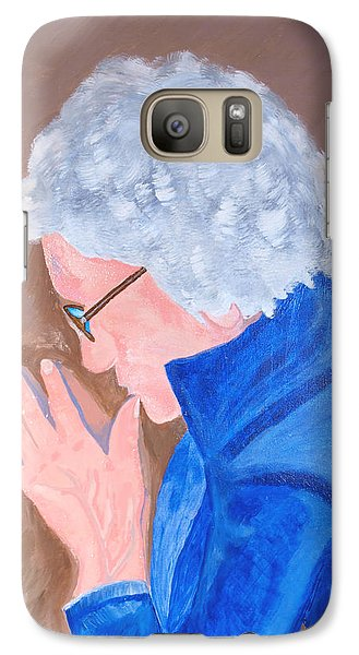 Galaxy Case featuring the painting All In The Mind by Lisa Brandel