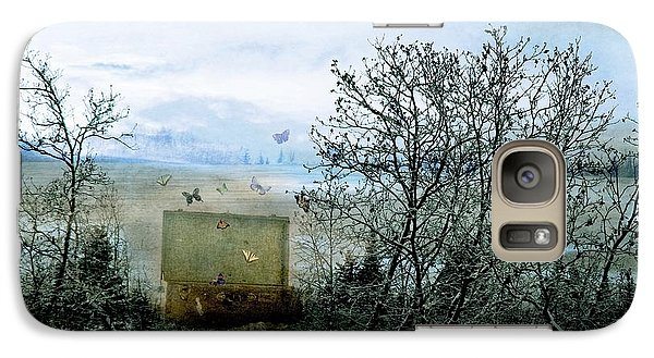 Galaxy Case featuring the digital art All My Precious Secrets by Michele Cornelius