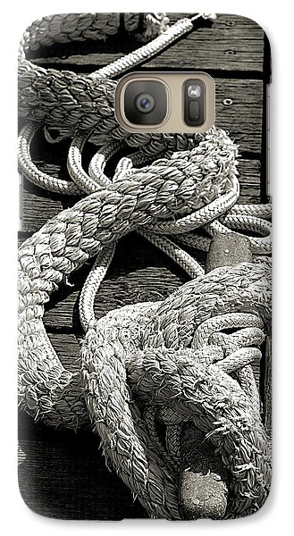 Galaxy Case featuring the photograph All Tied Up by Bob Wall