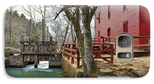 Galaxy Case featuring the photograph Alley Spring Mill 34 by Marty Koch