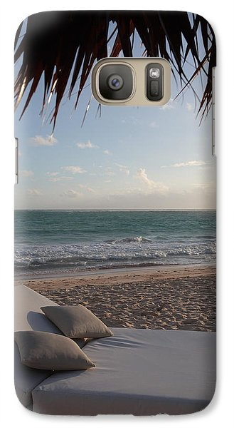 Galaxy Case featuring the photograph Alluring Tropical Beach by Karen Lee Ensley