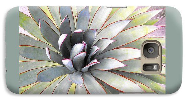 Galaxy Case featuring the photograph Aloe by Rebecca Margraf