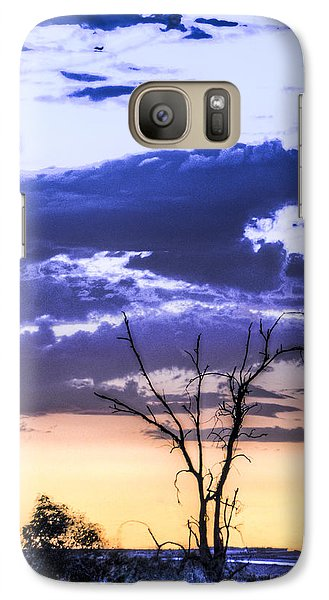 Galaxy Case featuring the photograph Alone by Marta Cavazos-Hernandez