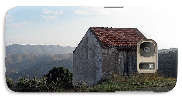 Galaxy Case featuring the photograph Alone On The Hill by Arlene Carmel