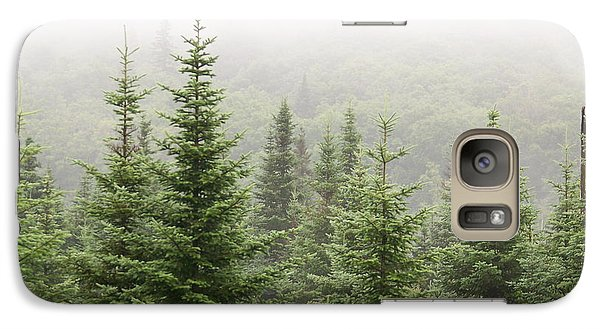 Galaxy Case featuring the photograph Alpine Trees by Robin Regan