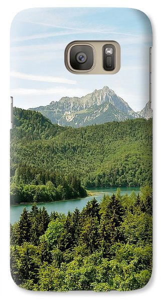 Galaxy Case featuring the photograph Alps From Bavaria by Rick Frost