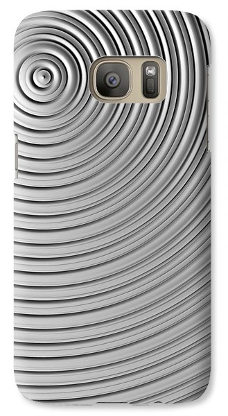 Galaxy Case featuring the digital art Also Not A Spiral by Jeff Iverson