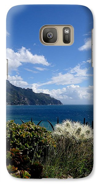 Galaxy Case featuring the photograph Amalfi Coast Succulents  2 by Tanya  Searcy