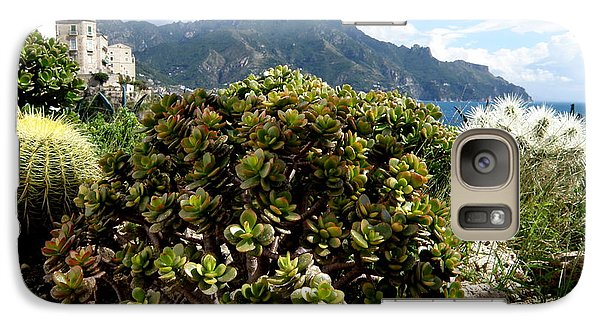 Galaxy Case featuring the photograph Amalfi Coast Succulents by Tanya  Searcy