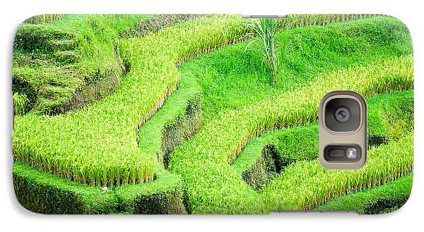 Galaxy Case featuring the photograph Amazing Rice Terrace Field by Luciano Mortula