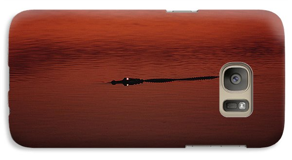 American Alligator Alligator Galaxy S7 Case by Konrad Wothe