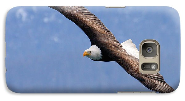 Galaxy Case featuring the photograph American Bald Eagle by Doug Lloyd