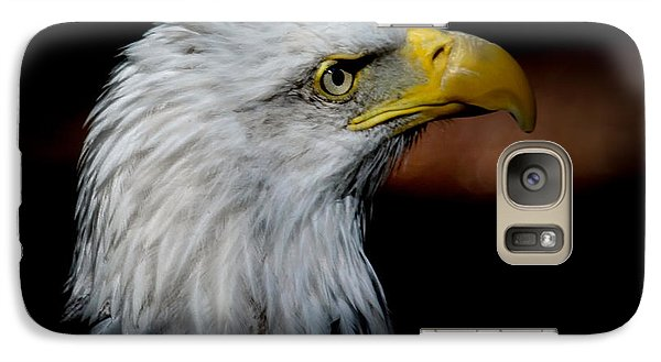 Galaxy Case featuring the photograph American Bald Eagle by Steve McKinzie