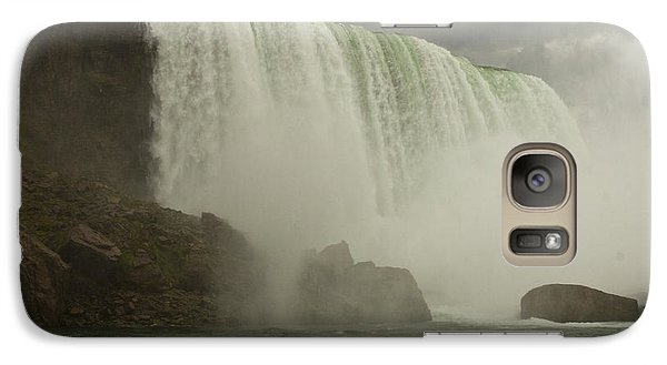 Galaxy Case featuring the photograph American Falls by Darleen Stry