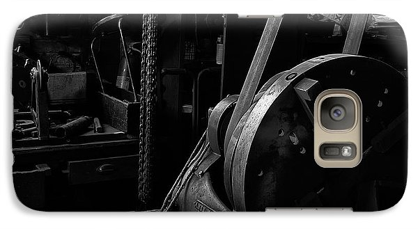Galaxy Case featuring the photograph Ames Mfg Co by Tom Singleton