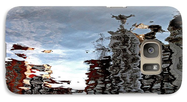 Galaxy Case featuring the photograph Amsterdam Reflections by Andy Prendy