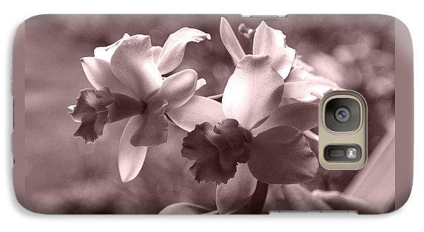 Galaxy Case featuring the photograph An Orchid Dream by Kerri Ligatich