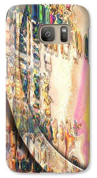 Galaxy Case featuring the digital art Anasazi by Steve Sperry