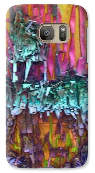 Galaxy Case featuring the digital art Ancient Footsteps by Richard Laeton