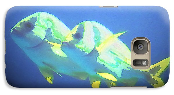Galaxy Case featuring the photograph And They Call It Fishy Love by Steve Sperry