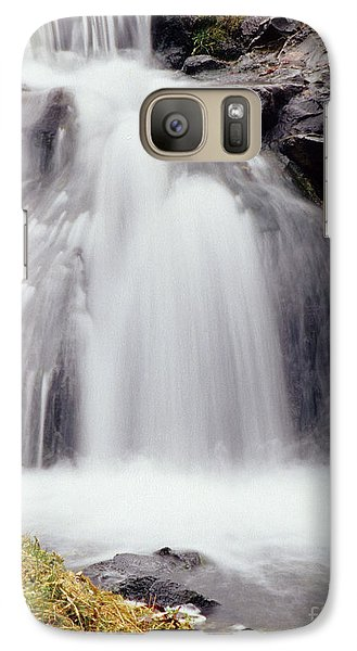 Galaxy Case featuring the photograph Angel Hair by Sharon Elliott