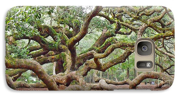 Galaxy Case featuring the photograph Angel Oak by Val Miller